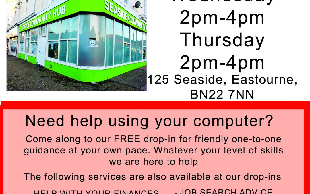 FREE Drop Ins to help you get back into work