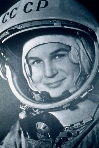 Celebrating Women in History: First Woman in Space Valentina Tereshkova