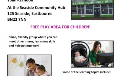 Job Buddies – every Thursday from 10am to 12noon at the Seaside Community Hub